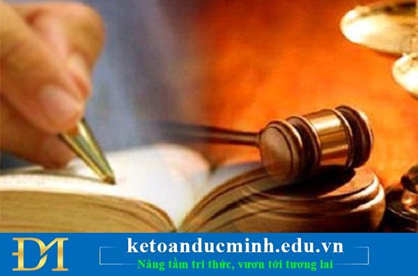 văn bản luật kế toán