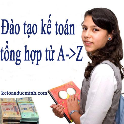 Kế toán tổng hợp từ a->z tại đức minh