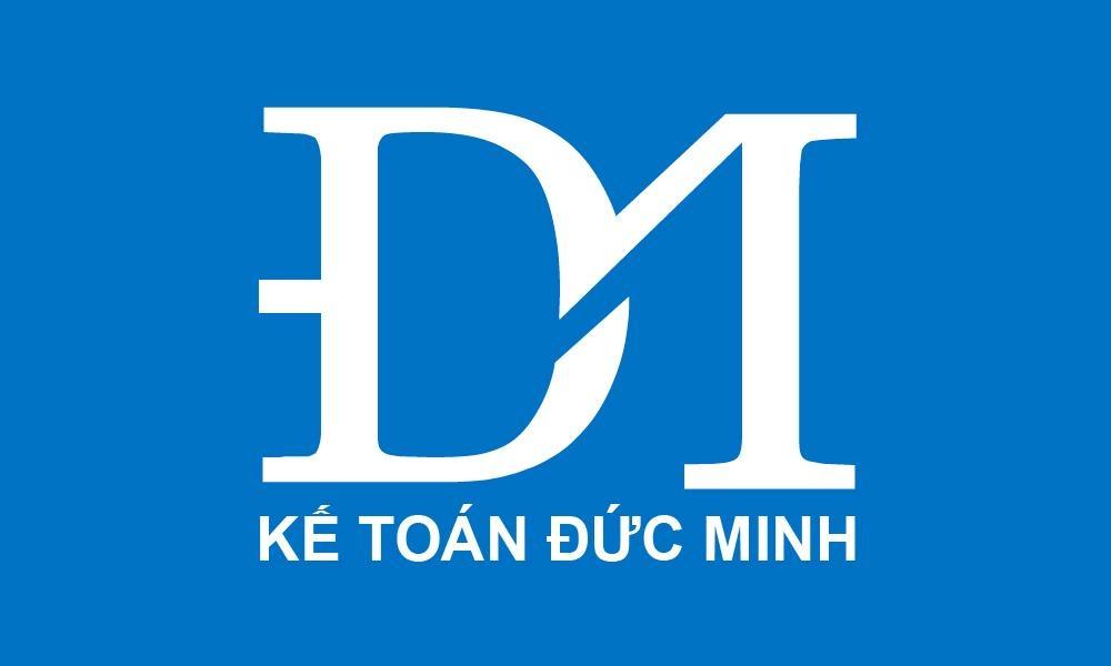 Logo kế toán đức minh