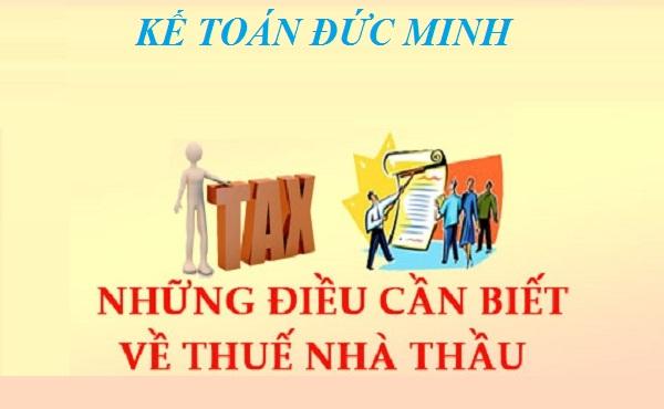 Đối tượng nộp thuế nhà thầu tại Việt Nam 2021 mới nhất-KTĐM