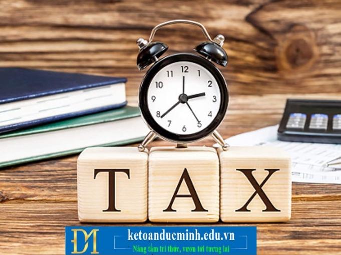 Một số tình huống thuế và cách xử lý - kế toán Đức Minh