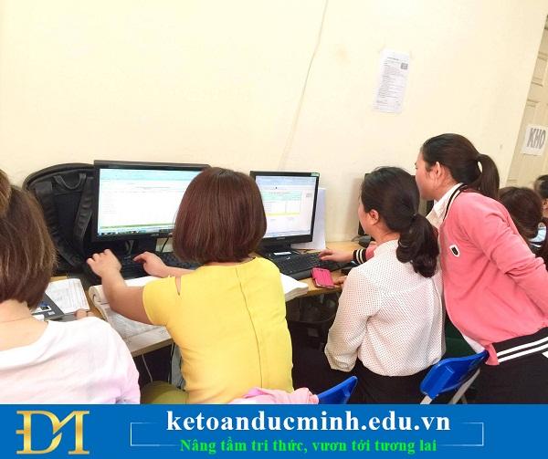 Công ty đào tạo kế toán Đức Minh tuyển thực tập sinh kế toán tại Hà Nội