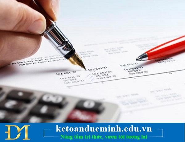 Hồ sơ khai quyết toán thuế TNDN gồm những gì? -Kế toán Đức Minh