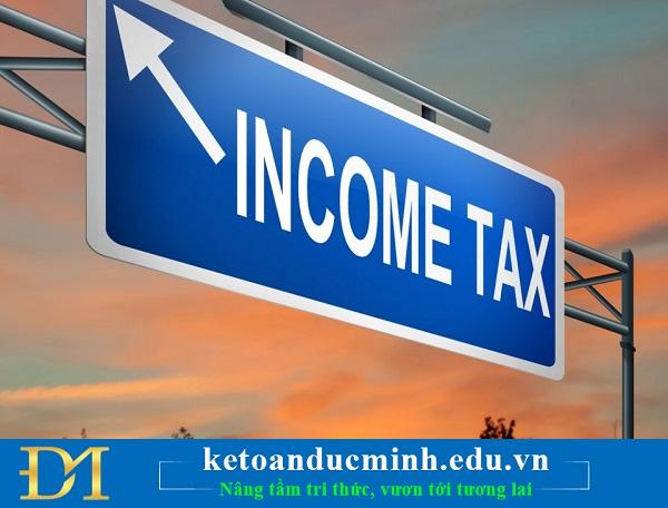 Cách xác định thuế TNCN đối với khoản thanh toán khi chấm dứt hợp đồng lao động.