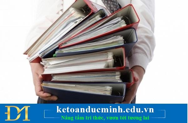Các loại chứng từ kế toán trong ngân hàng - Kế toán Đức Minh