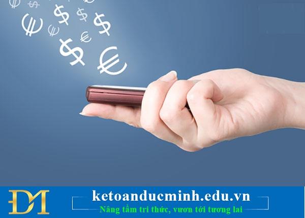 Xử lý chuyển tiền từ tài khoản cá nhân sang công ty và ngược lại - Kế toán Đức Minh.