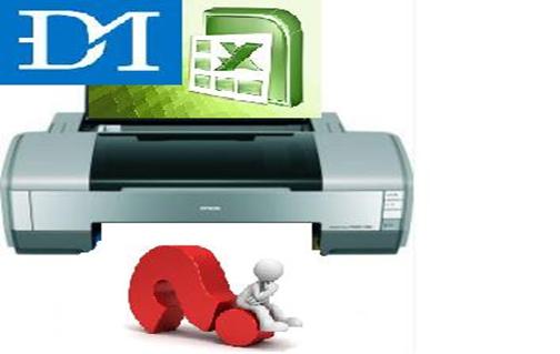 Cách định dạng trang giấy trước khi in trong excel