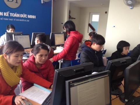 Đào tạo thực hành kế toán thuế - kế toán tổng hợp trên sổ