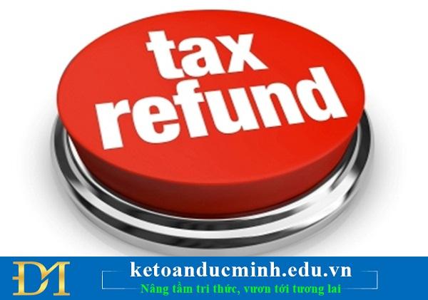 Các bước gửi bổ sung giấy đề nghị hoàn Thuế điện tử- Kế toán Đức Minh