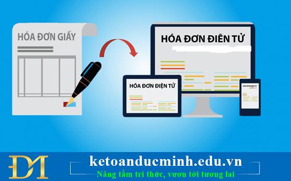 Đánh bay gánh nặng xử lý hóa đơn giấy cho kế toán bằng hóa đơn điện tử– Kế toán Đức Minh.