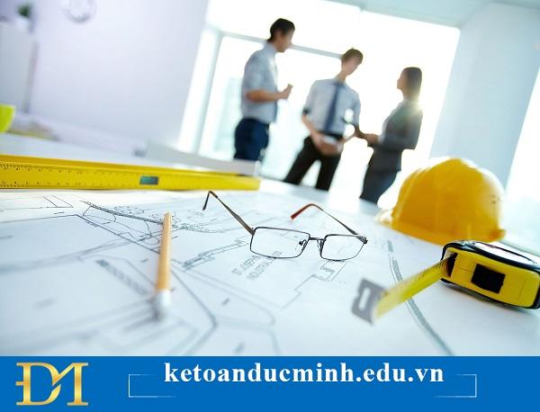 Hướng dẫn các bước làm kế toán xây dựng chi tiết - Kế toán Đức Minh.