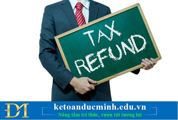 Các bước nộp giấy đề nghị hoàn thuế điện tử