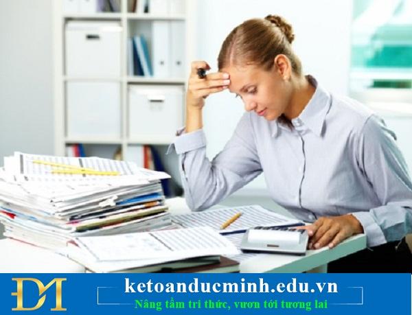 Cách xử lý khi sử dụng hoá đơn trước khi lập thông báo phát hành hoá đơn.