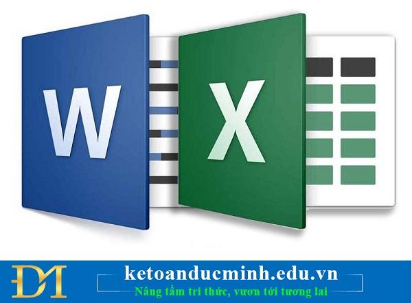 Cách in hai mặt giấy ở Word, Excel, PDF cực kỳ đơn giản - Kế toán Đức Minh.