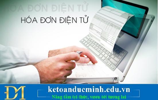 Hướng dẫn nhập hóa đơn điện tử của các công ty uy tín- Kế toán Đức Minh