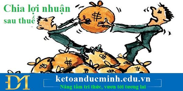 Kế toán chia lợi nhuận sau thuế như thế nào đối với công ty nhiều cổ đông góp vốn