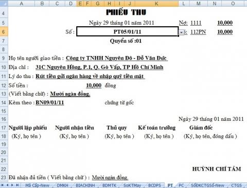 Bí quyết làm việc kế toán trên file Excel hiệu quả nhất