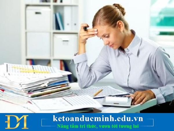 Kế toán công nợ và những sai sót mà kế toán cần chú ý