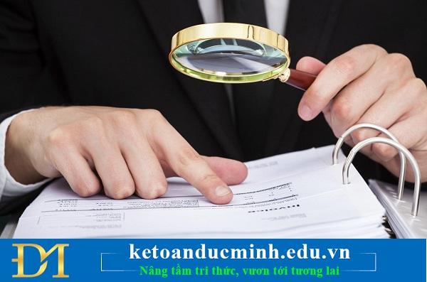 Phân biệt giữa sai sót và gian lận trong BCTC - Kế toán Đức Minh.