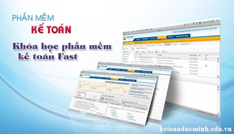 Các bước sử dụng phần mềm kế toán Fast