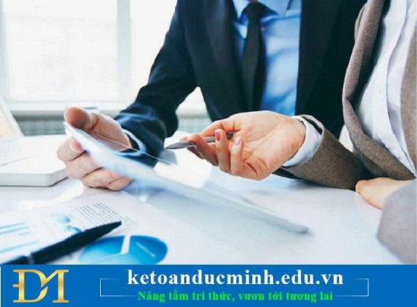 Các bước trong quy trình làm kế toán trong doanh nghiệp - Kế toán Đức Minh