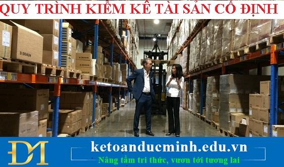 Quy trình kiểm kê tài sản cố định trong doanh nghiệp - Kế toán Đức Minh