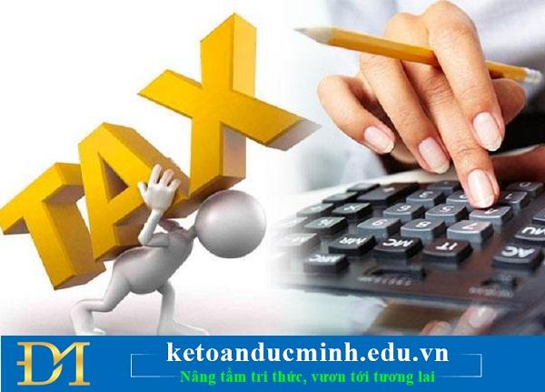 Những điều thay đổi mới về thuế TNCN, TNDN trong tháng 5 này! - Kế toán Đức Minh.