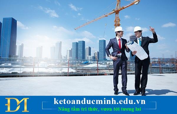 Điều kiện và thủ tục thành lập công ty xây dựng cần những gì? - Kế toán Đức Minh.