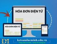 Đề nghị cấp hoá đơn điện tử có mã của cơ quan Thuế - Kế toán Đức Minh.