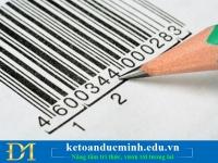 Hướng dẫn thủ tục đăng ký mã số mã vạch cho Doanh nghiệp- Kế toán Đức Minh.