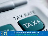Thuế GTGT và những điều cần biết- Kế toán Đức Minh
