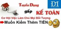 Tuyển Nhân viên kế toán tổng hợp tại Hà Nội