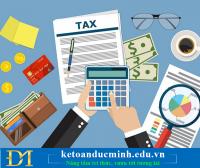 Những điều cần biết về chi phí thuế thu nhập doanh nghiệp – Kế toán Đức Minh.