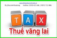 Thuế vãng lai các công trình ngoại tỉnh vẫn được miễn. Bạn biết chưa? (PHẦN 1)