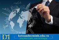 Thanh toán quốc tế đối với kế toán thuế trong Công ty xuất nhập khẩu- Kế toán Đức Minh.