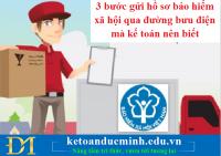 3 bước gửi hồ sơ bảo hiểm xã hội qua đường bưu điện mà kế toán nên biết