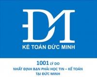 1001 LÝ DO BẠN NHẤT ĐỊNH PHẢI HỌC TIN - KẾ TOÁN TẠI ĐỨC MINH