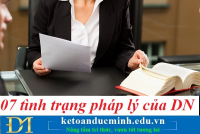 07 tình trạng pháp lý của doanh nghiệp – Kế toán Đức Minh.