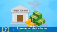 Hướng dẫn kê khai, nộp phí dịch vụ thanh toán của Kho bạc Nhà nước – Kế toán Đức Minh.