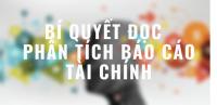 Kinh nghiệm đọc BCTC nhanh trong 1 phút - KTĐM