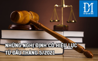 Chính sách mới có hiệu lực hôm nay 15/5/2021 - kế toán Đức Minh
