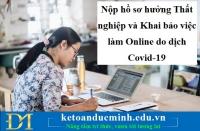 Nộp hồ sơ hưởng Thất nghiệp và Khai báo việc làm Online do dịch Covid-19 – KTĐM