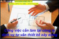 Kế toán dịch vụ Tư vấn thiết kế xây dựng – Kế toán Đức Minh