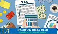 Tổng cục thuế: lập danh sách người nộp thuế có rủi ro về hóa đơn - kế toán Đức Minh
