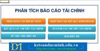 Các chỉ số quan trọng trong phân tích bctc-Kế toán Đức Minh