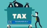 Phân biệt không chịu thuế, chịu thuế 0%, không phải kê khai tính nộp thuế - Kế toán Đức Minh