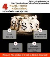 4 bước để kiếm được bộn tiền