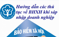 Hướng dẫn các thủ tục về BHXH khi sáp nhập doanh nghiệp - Kế toán Đức Minh.