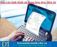 Báo cáo tình hình sử dụng hóa đơn điện tử – Kế toán Đức Minh