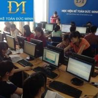Các KHÓA HỌC NGHIỆP VỤ KẾ TOÁN NGẮN HẠN tại Kế toán Đức Minh ở Hà Nội
